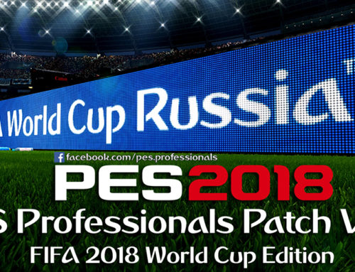 PES Professionals Patch 2018 V2.2