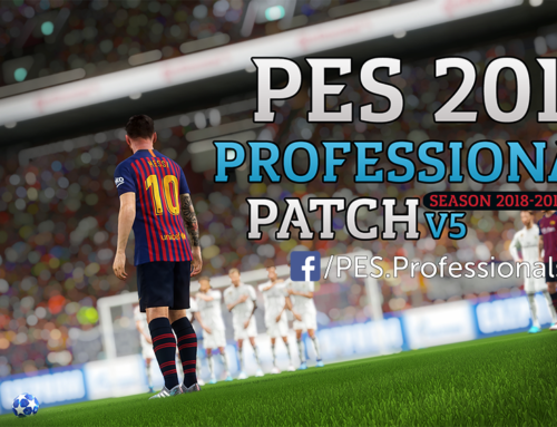 PES 2017 Professionals Patch V5 Season 17-18 AIO