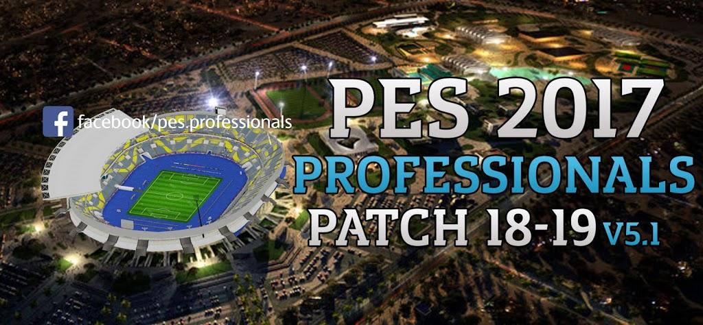 87f71e8dc PES 2017 Professionals Patch V5.1 - PES Professionals - محترفي البيس