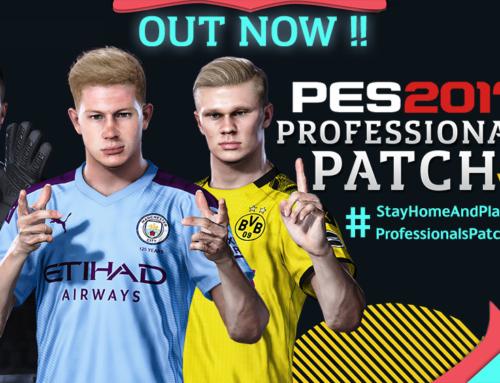 PES 2017 Professionals Patch Update V6.1 التحديث الاول للاصدار السادس لباتش بيس بروفشنال