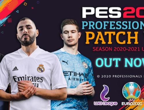 PES 2019 Professionals Patch V3 الاصدار الثالث من باتش بيس بروشنال لبيس 2019